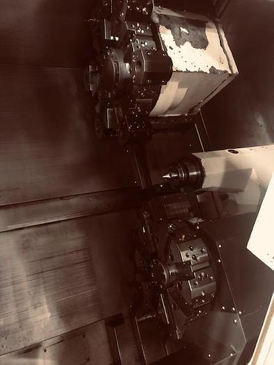 2008 Doosan  Puma TL-2000 Twin Turret (4 Axis) CNC Lathe