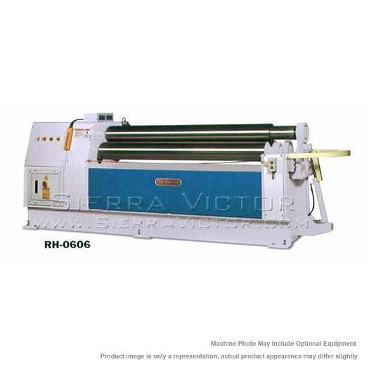 BIRMINGHAM Double Pinch Hydraulic Plate Bending Roll RH-0606