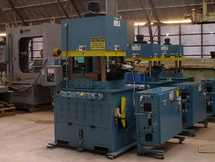 Used 120 Ton PRECO Model 1420 4-Post Down Acting Hydraulic Press;