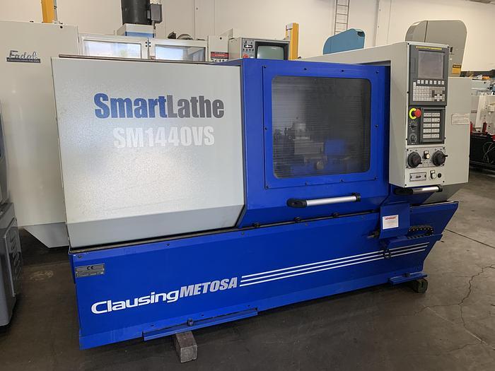 Used CLAUSING METOSA SM1440VS CNC LATHE