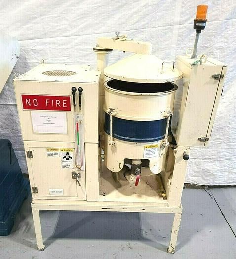 Used Sintobrator High Speed Disc Dry Finishing Machine Polish Deburr Metal Fast
