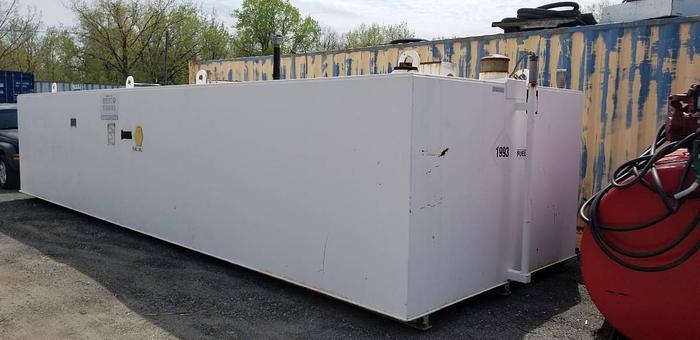 10,000 Gallon Double Wall Tank
