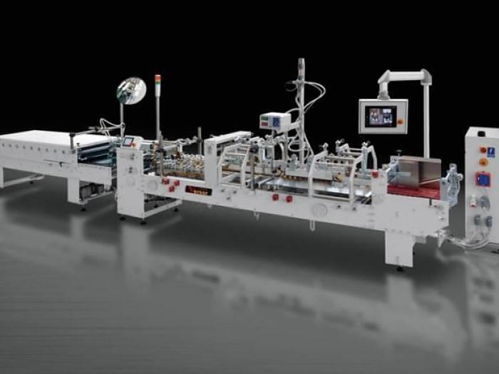 Used Versor Verso 60 K3 folding-gluing machine (New)