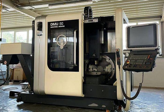 Used DMG Gildemeister DMU 50 - CNC Vertical machining center - 2013