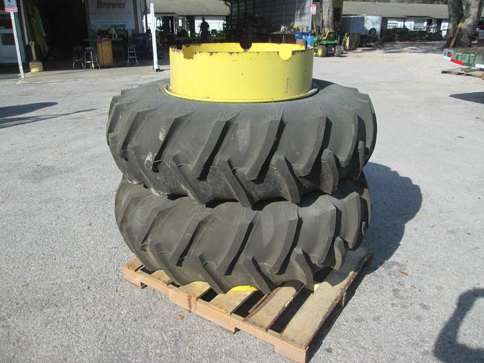 Firestone 16.9-30 Tractor Tires And Rims