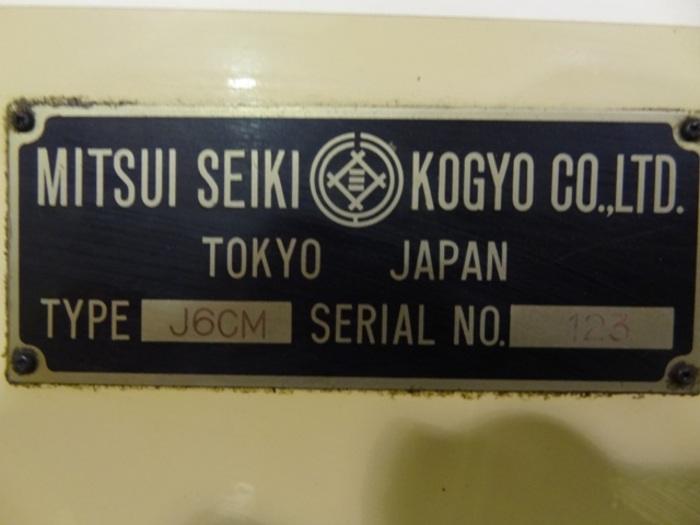 MITSUI SEIKI 6CM BRIDGE TYPE VERTICAL CNC JIG BORER