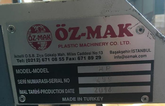 HYDRAULIC PRESS OZ-MAK (Turkey) mod. HP for normal handle or T-shirt handle
