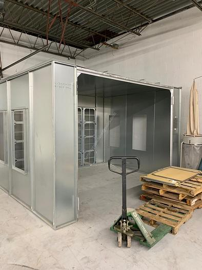Used Standard Equipment Spray Booth-MSFB-1000