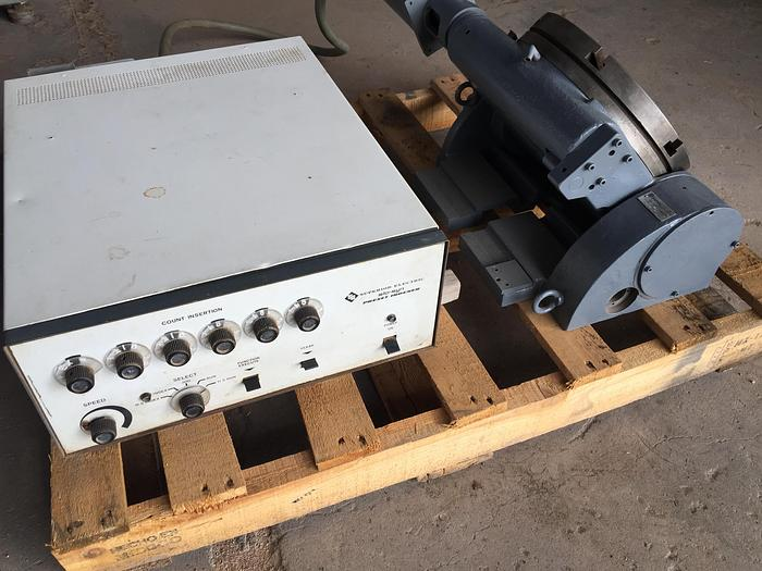"""12"""" Yuasa 2 Axis Tilting Type CNC Rotary Table w/ Slo-Syn Preset Indexer"""