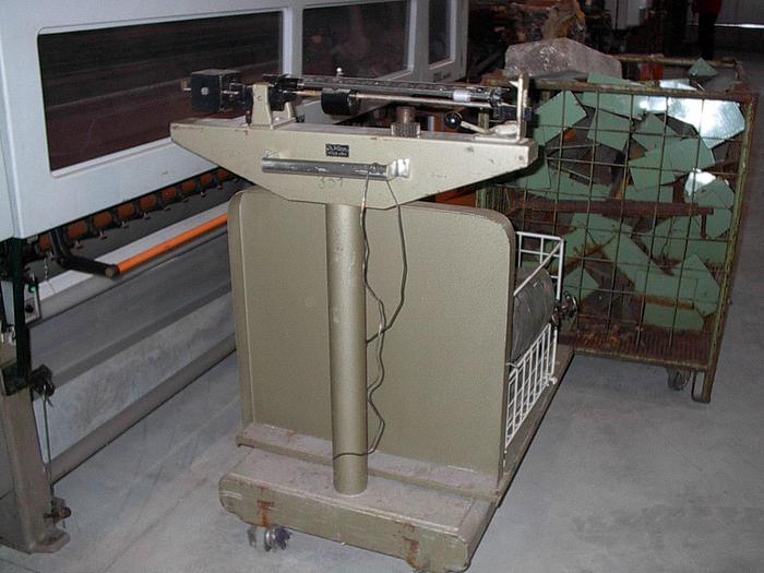 Gebraucht Flächen-Lauf-Gewichtswaage PRÜM  Söhnle 0,250 - 1000 kg