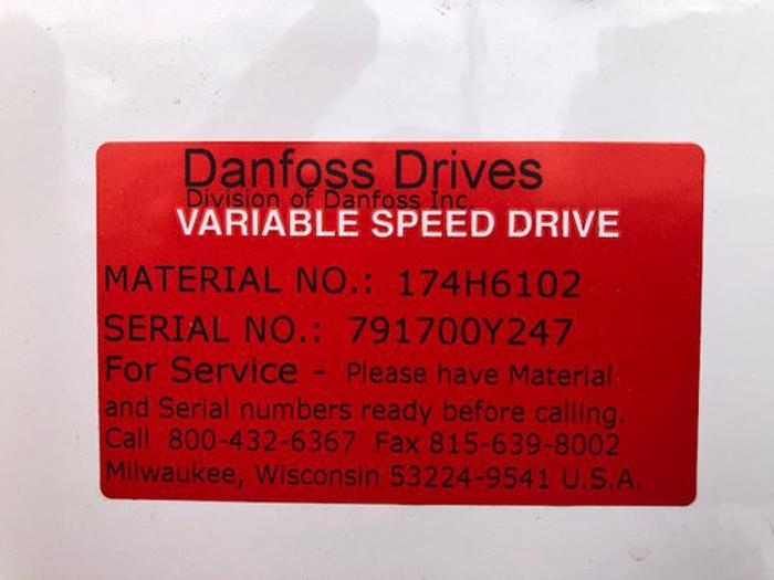 (2) Danfoss Variable Speed Drives (New)