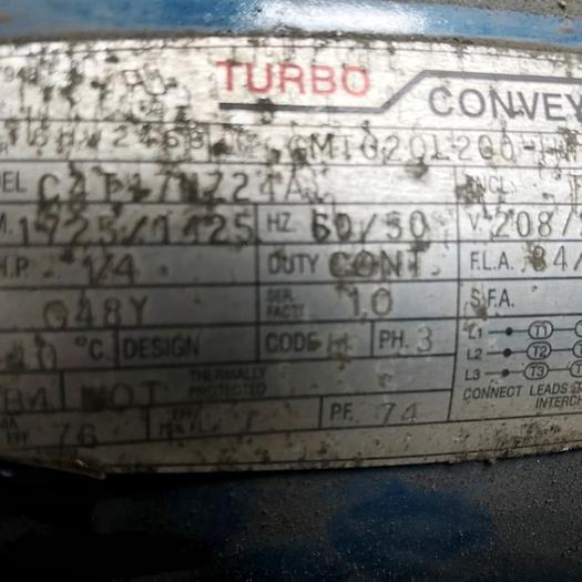 Turbo Machinery Conveyor 6287-8067