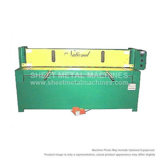 NATIONAL Mechanical Shear NM1014