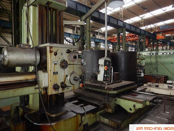 1982 TOS W100A H Boring Machine (Hardened Bed + ISO Taper)