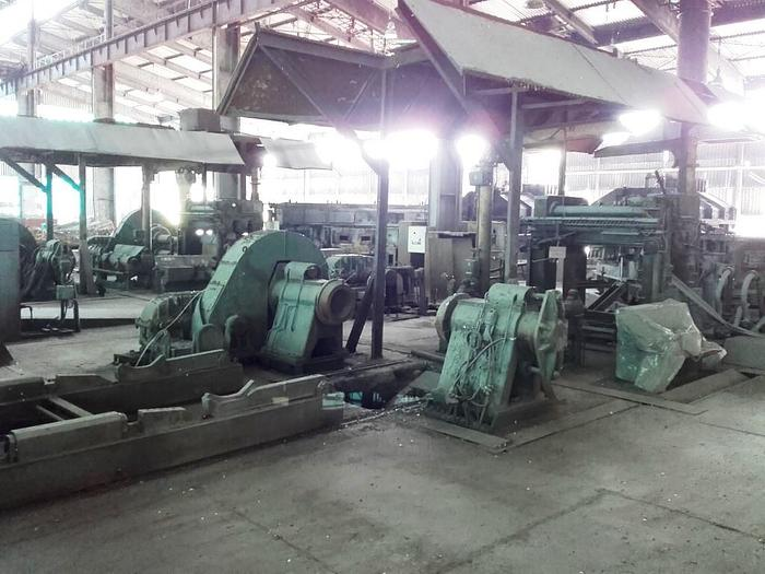 Two (2) 1600 mm SCAL Aluminum Twin-Roll Strip Casters: MC-439