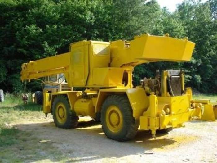 1978 Grove Rough Terrain Cranes RT522