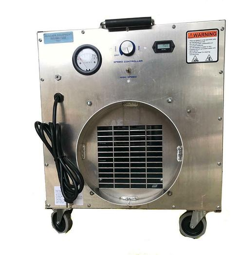 Used Omni-Aire 1000V Air Filtration System 1722.1 Hours, 350-900CFM W/ Hose (7597) W