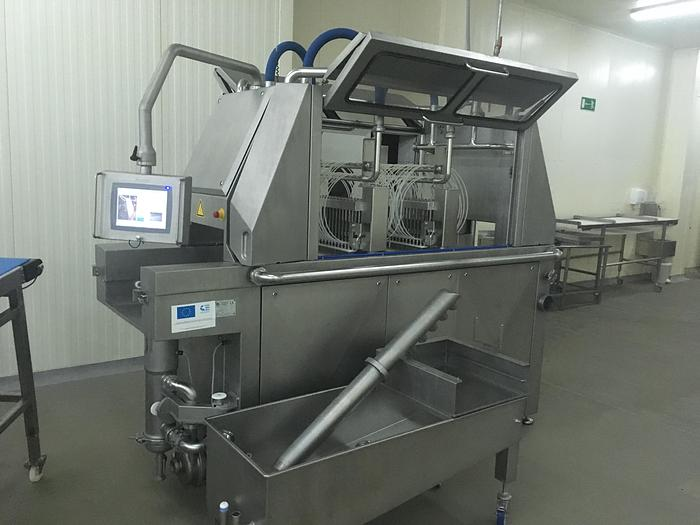 BAADER, CARNITECH, MULTIVAC, Fomaco, Salmon processing line