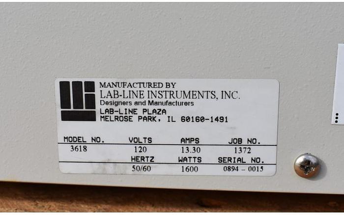 USED LABLINE 3618 VACUUM OVEN, 2.3 CU.FT.