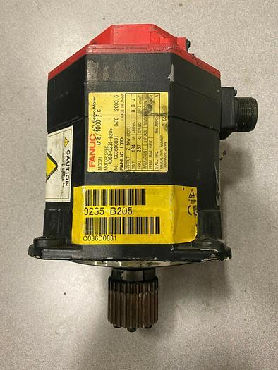Used FANUC SERVO MOTOR a8/4000 iS A06B-0235-B205