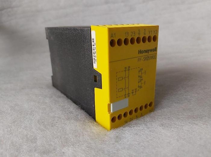 Gebraucht Zwei Hand Sicherheits Modul, FF SR25980G Honeywell,  gebraucht-Top