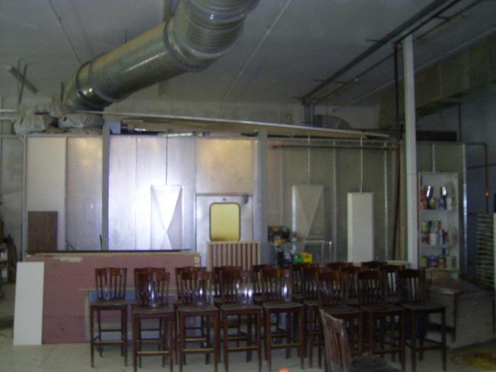 Used JBI Model RAM 20 Spray Booth