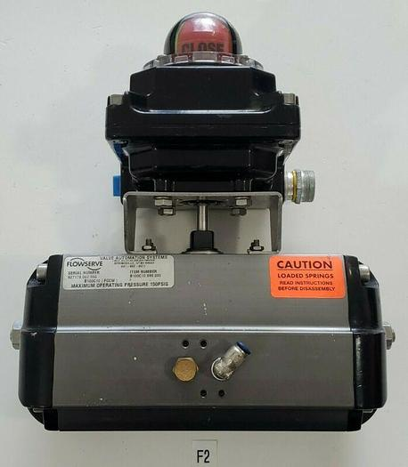Used *PREOWNED* Flowserve B100C10 Automax Valve Actuator w/ NXCLU2M1 Ultra Switch