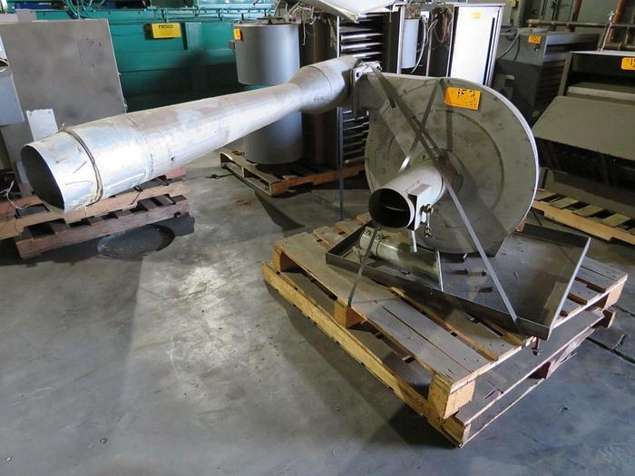 Used NORTH AMERICAN TRIM BLOWER 5 HP