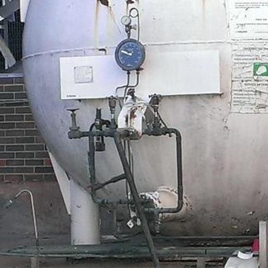Used 1,000G Nitrogen Bulk Storage Tank