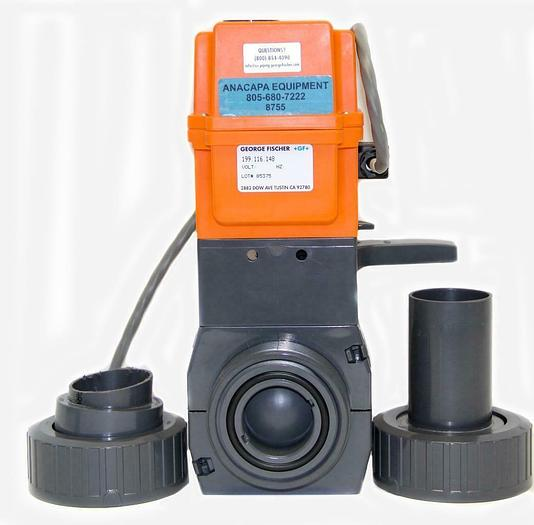 Used George Fischer +GF+ 199.116.148 Electric Actuator Type EA 20 198.150.431 (8755)W