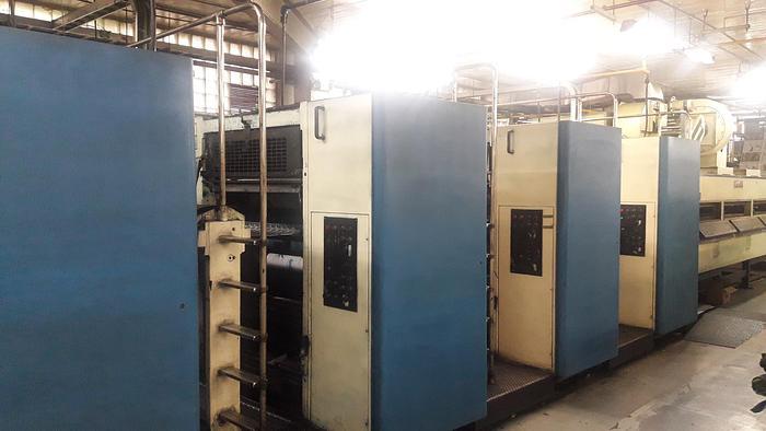 Used 1989 Harris Marinoni M300M (4) Unit (1) Web Press System