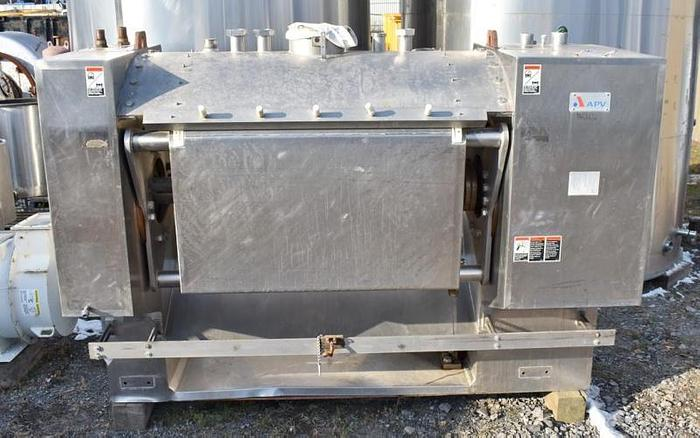 USED ROLLER BAR DOUGH MIXER, 1600 LBS, STAINLESS STEEL, JACKETED