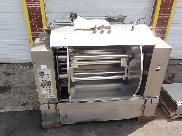 Used Peerless Roller Bar Dough Mixer; Md#1600HS