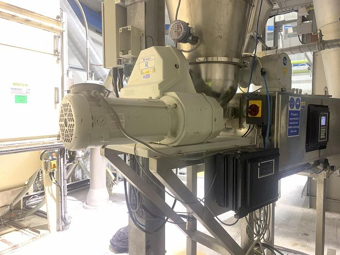 Used 2000 K-TRON  K2-MV-T60/DR Twin Screw Volumetric Feeder