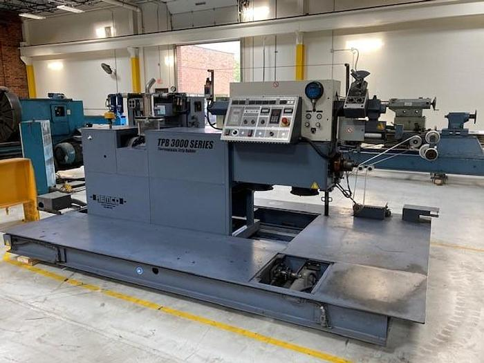 Used 2007 REMCO TPB 3100T Thermoplastic Extruder & Strip Builder