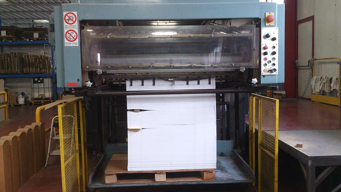 DIE CUTTER WUPA 7.2 (for cardboard1-2-3 plies)