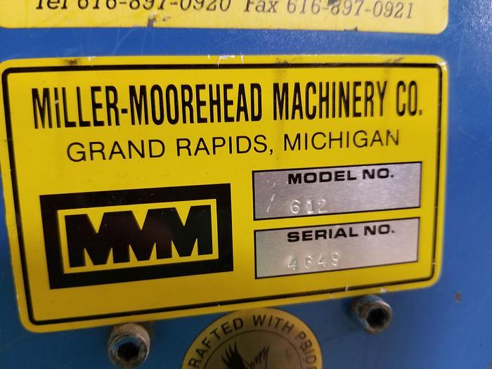 Miller-Moorehead 612 Multiple Slitter