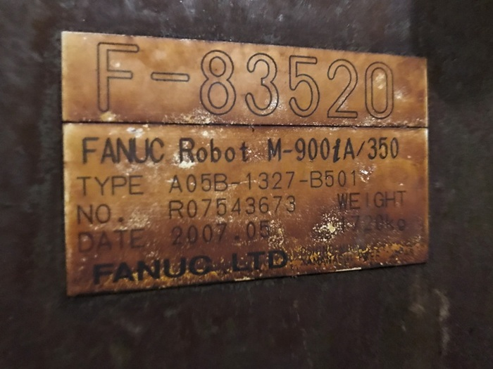FANUC M900iA/350 6 AXIS CNC SPOT WELDING ROBOT W/R30iA