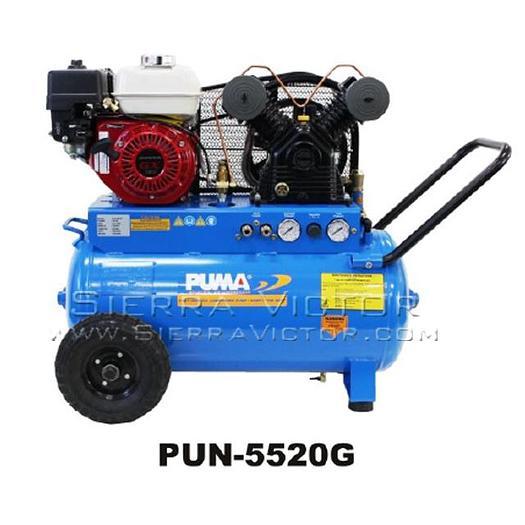 PUMA 5.5 HP Professional/Commercial Gas-Powered Air Compressor PUN-5520G