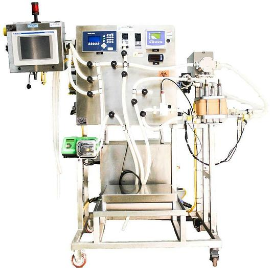 Used BioTek Systems Single Use BDPS UF/DF Ultrafiltration Diafiltration System 5763