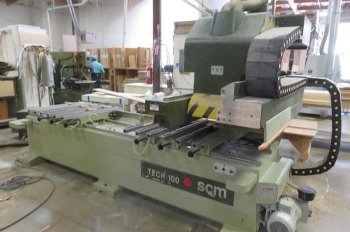 SCMI Tech 100 Point to Point CNC Router with 2 Spindles, Aggragets, and Vacuum Pumps -PRICED TO SELL!