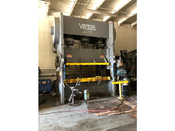 Used 300 ton Verson SSDC Mechanical Press