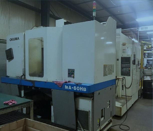 2000 OKUMA HM 60HB CNC HMC