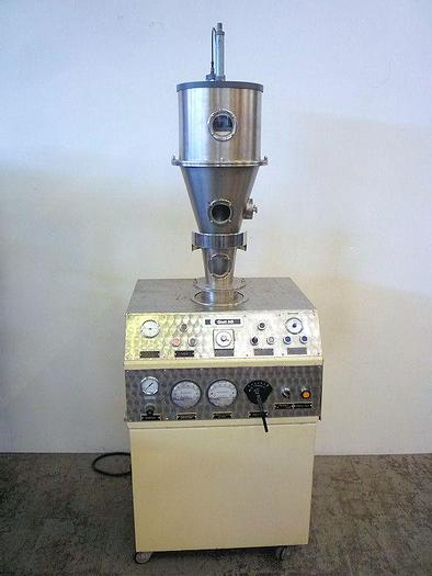 Used W 12412 E - Laboratory Fluidbed Dryer GLATT UNIGLATT