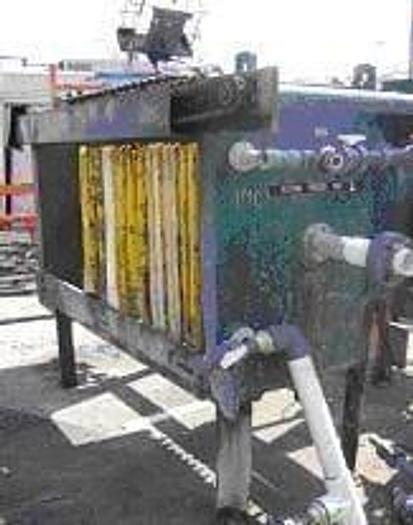 Used 8 CU. FT. DURCO FILTER PRESS – 800 MM – #6382