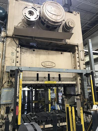 "300 ton Danly 72""x42"" SSDC Press"