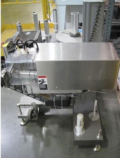 Used NJM  CLI Packaging Shipper Labeler Fina Touch Print & Apply