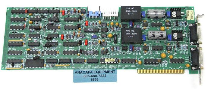 Used Nicolet Biomedical 000-434308, 050-434308 X/Electrical Simulator ISA Card (8853)