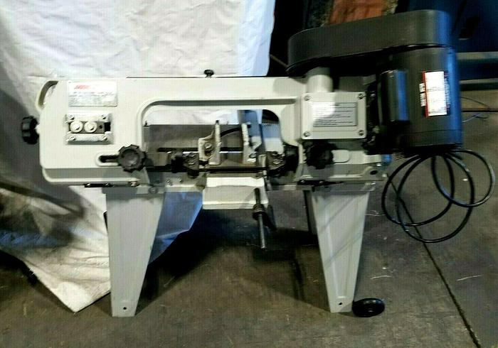 "Used MSC 4-1/2"" x 6"" Metal Cutting Bandsaw compact 110V 1/2 HP"