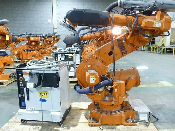 Used 2012 ABB IRB 6640-235/2.55 CNC 6 AXIS ROBOT WITH IRC 5 CONTROLLER